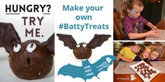 Have you got little chefs at home? Get them making ‪#‎BattyTreats‬ for Halloween! We have some fun recipes that are tasty AND made from ingredients that benefit from bat ecology! Don't forget to share you creations with us! Snap a photo of your food with our batty food label and share on Facebook or Twitter Bat Activities For Kids, Little Chef, Make Your Own, How To Make, Home Chef, Food Labels, Everyday Food, Different Recipes, Have Some Fun