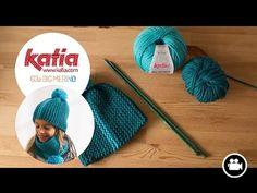 Un ensemble bonnet et snood pour enfant en grosse laine - La Malle aux Mille Mailles
