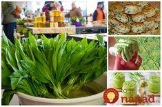 Ďalšiu príležitosť budete mať až o rok. Natrhajte si zásobu medvedieho cesnaku. Môžete si z neho pripraviť fantastické chuťovky, pagáče, šaláty, ale aj liečivú tinktúru či pesto. Brunch, Croissants, Parsley, Pesto, Food And Drink, Herbs, Healthy Recipes, Gardening, Vegetables