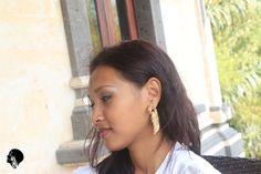 Fake Gauge Earrings, Tamarind Bird Carving Wood Fake Piercing #fashion #earrings