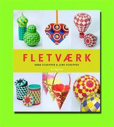 Book Review: Fletvaerk, by Anna & Lene Schepper. Amazing Danish paper-weaving. http://thepapercraftpost.blogspot.co.uk/2013/12/book-review-fletvaerk-amazing-danish.html