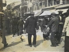 Chinese New year 1914 ( photographer unknown) Hong Kong, China, Fictional Characters, Fantasy Characters, Porcelain