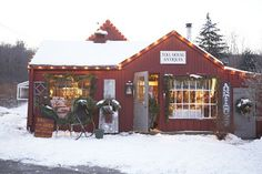 Country store ...Christmastime
