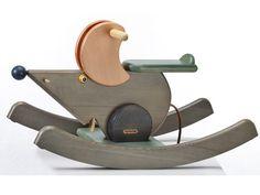 Holzspielzeug - JANOSCHIK Schaukelmaus Betty 303F - ein Designerstück von Janoschik bei DaWanda