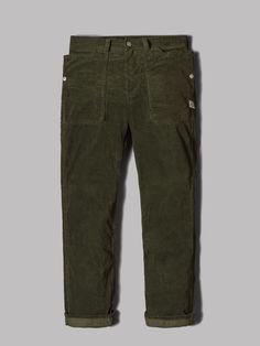 Sassafras Fall Leaf Pants (Olive T/C Cord)