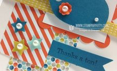 Stampin up stampinup pretty oh whale big shot machine spring catalog card idea punch order online