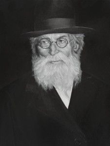 Oil on Canvas Painting of the great #Jewish Rabbi the  Chazon Ish , Rav Avraham Yeshaya Karelitz. He resided in Bnei Brak, Israel and as the Gadol Ha'Dor (greatest Rabbi of the generation), led the nascent  nation of Israel through difficult times.