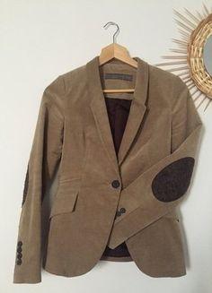 Manteau gris cabans coupe trapèze Zara Vinted