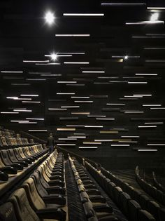 GUANGZHOU JINYI CINEMAS in Guangzhou, China designed by One Plus Partnership Limited.  *Another name: Meteor Cinema