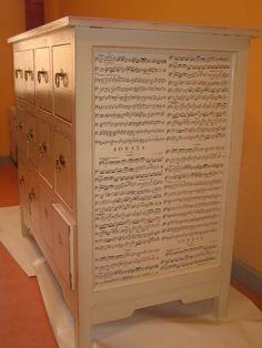 Pintando muebles en pino crudo | Aprender manualidades es facilisimo.com