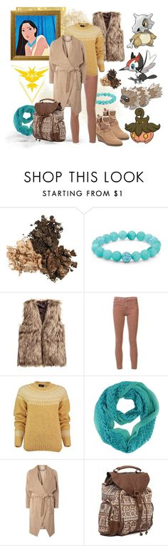 """Pokemon Trainer Pocahontas"" by teenageprincessgirl ❤ liked on Polyvore featuring Disney, Palm Beach Jewelry, AG Adriano Goldschmied, Lowie, mel, Billabong and John Lewis"