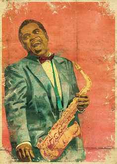 Maceo Parker by urban-myth. Love the colors in this vintage poster.