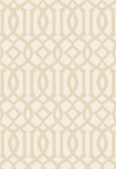 Imperial Trellis II Wallcovering in Sand / Ivory, 5005802.  http://www.fschumacher.com/search/ProductDetail.aspx?sku=5005802