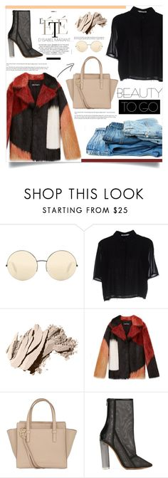 """Untitled #251"" by dizarah ❤ liked on Polyvore featuring Victoria Beckham, T By Alexander Wang, Bobbi Brown Cosmetics, Salvatore Ferragamo and adidas Originals"