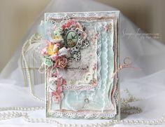 Scrap-Imaginarium: Весеннее шебби / Shebby spring card
