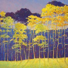 Gold & Blue Dance by Ken Elliott