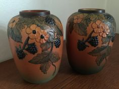 Pair of vases by P.I.E. P Ipsens Enke a Danish by Qvirky on Etsy