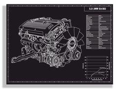 BMW E46 M3 S54 B32 Engine