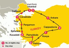 Travel Turkey cheap coach tours Turkey Explored bus trip to Turkey, Istanbul, Cappadocia - Topdeck Trendy Travel Specialist for Young People Ancient Greek City, Coach Tours, Kusadasi, Pamukkale, Ephesus, Bus Travel, Turkey Travel, Oh The Places You'll Go, Continents