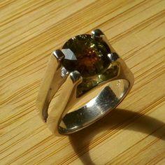 my watermelon tourmaline engagement ring