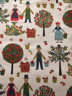 1960s scandinavian fabric