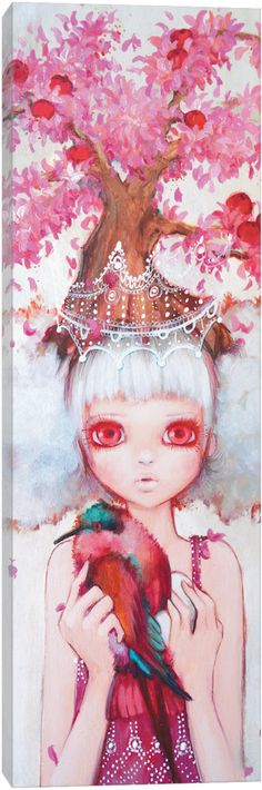 'Apple Tree Queen' by Camilla d'Errico Canvas Print Wall Art ★༺❤༻★