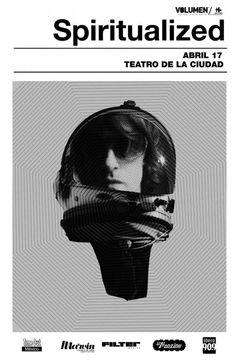 Spiritualized en México, Teatro de la Ciudad miércoles 17 de abril.