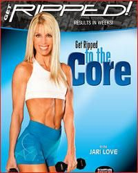 Jari Love - Get RIPPED! to the Core  compound movements and lots of upper body work
