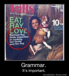 Commas, they make all the difference