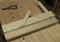 Miter shooting board