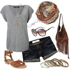 Summer, created by jill-hammel on Polyvore