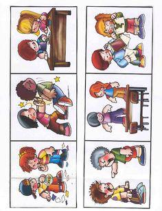 1 Preschool Rules, Kindergarten Reading Activities, Preschool Worksheets, Preschool Activities, Character Education Lessons, Physical Education Games, Teaching Social Skills, Teaching Schools, Preschool Birthday