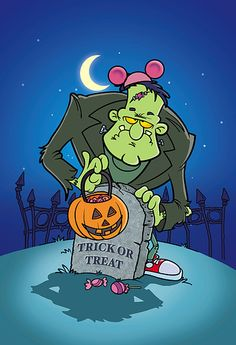 Frankies Halloween by bob ostrom studio, via Flickr