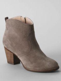 #LoveLandEnd #Boots #Grey #Suade #Heal
