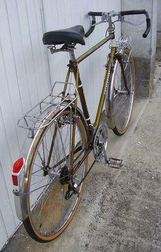 Vélo Randonneuse Motoconfort 650B - demi course - Cyclotouriste - Randonneur