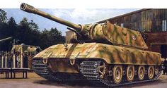 The Panzerkampfwagen E-100 (Gerät 383) (TG-01) was a German super-heavy tank design developed near the end of World War II.