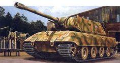 The Panzerkampfwagen E-100 (Gerät 383) (TG-01) was a German super-heavy tank design developed near the end of World War II.