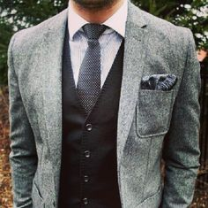 Grey and jacket