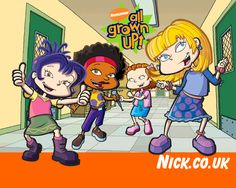 Girls - on and Rugrats All Grown Up, New Series, Animated Gif, Favorite Tv Shows, Growing Up, Animation, Wallpaper, Children, Fictional Characters