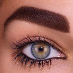 To achieve this Angled & Full brow look, outline brows in a Big Brow Pencil, then fill in color with Fluidline Gelcreme in a shade that matches your hair color! Stay turned throughout March for more next-level brow tips. #MACBrowsAreIt!