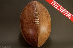 Vintage Rugby Ball Etonias Cigar by Timothy by TheBlackHatDesign