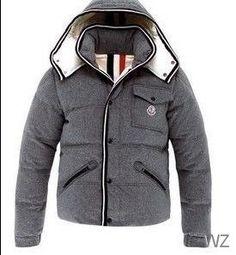 ea51587bd9be Doudoune Moncler homme Branson Gris Gray Jacket, Grey Parka, Gray Coat,  Mens Down