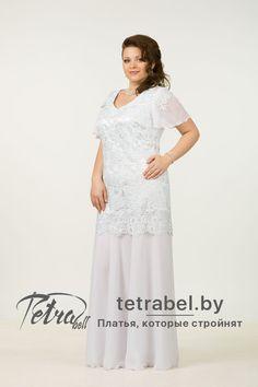 0076d9c9f82 Вечернее платье больших размеров для полных женщин. Вечерние платья больших  размеров от tetrabel.by