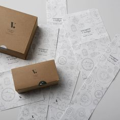 The Visual Identity of 'Voyageur du Temps' Bakery and Café by Character | http://www.yatzer.com/voyageur-du-temps photo © Todd Tankersley.