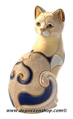 Cat figurine, De Rosa collection