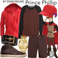 DisneyBound is meant to be inspiration for you to pull together your own outfits which work for your body and wallet whether from your closet or local mall. As to Disney artwork/properties: ©Disney Disney Princess Outfits, Disney World Outfits, Disney Themed Outfits, Movie Inspired Outfits, Disney Inspired Fashion, Disney Fashion, Prince Philip Disney, Prince Phillip, Honeymoon Attire