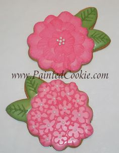 The Painted Cookie: Hydrangeas