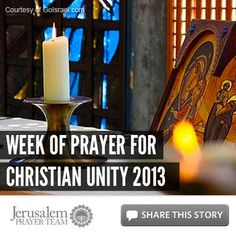 For more on this story, visit: http://articles.jerusalemprayerteam.org/jerusalem-and-the-week-of-prayer-for-christian-unity-2013/    LIKE and SHARE this story to encourage others to pray for peace in Jerusalem, and leave your own PRAYERS and COMMENTS below.    --------------------	    To help our cause financially, go here: http://jerusalemprayerteam.org/email/2013/0117-fb.htm