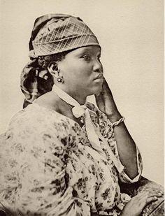 Beautiful Surinamese Woman