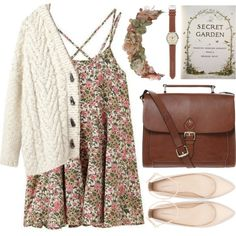 Secret garden, created by astoriachung on Polyvore